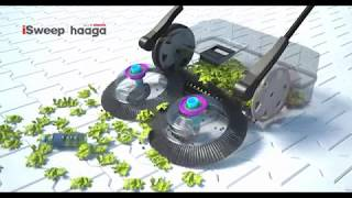 Haaga 400 series: hand-held sweeper for coarse and fine dirt