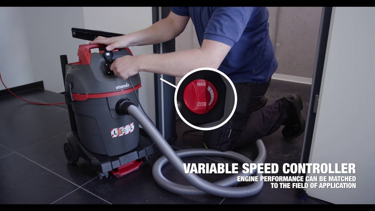 STARMIX NSG uClean vacuum cleaner ARDL and ADL for craftsmen