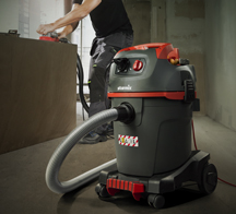 Power tool vacuum cleaners NSG uClean series, for normal dust emission