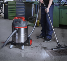 Industrial vacuum cleaner series uClean, for professionals