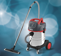 Wet/Dry vacuum cleaners for dust-free applications