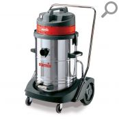 Industrial vacuum cleaner GS 3078 PZ, Wet-Dry vacuum cleaner with 3 motors