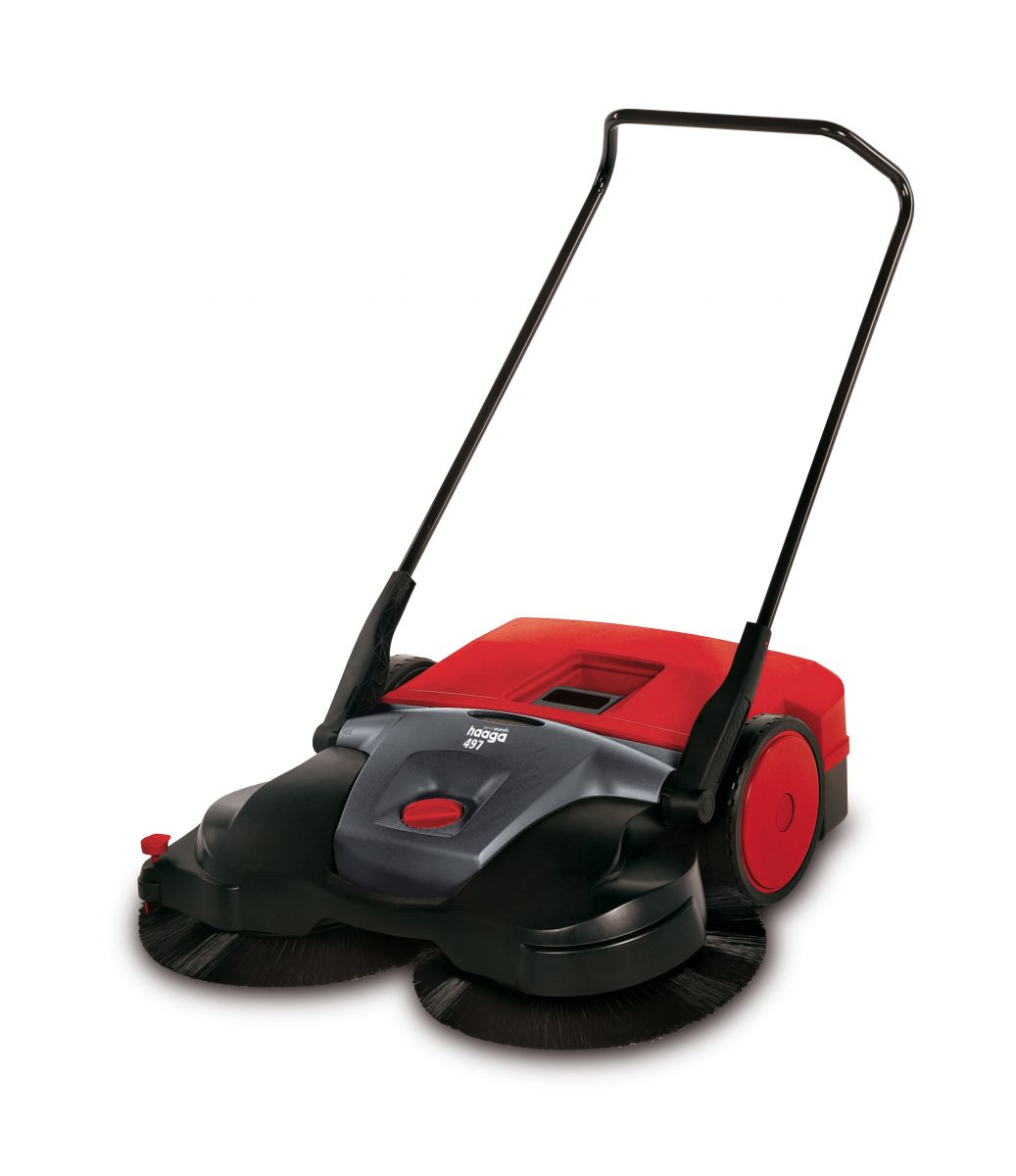 Sweeper haaga 477 Profi, Turbo sweeping system