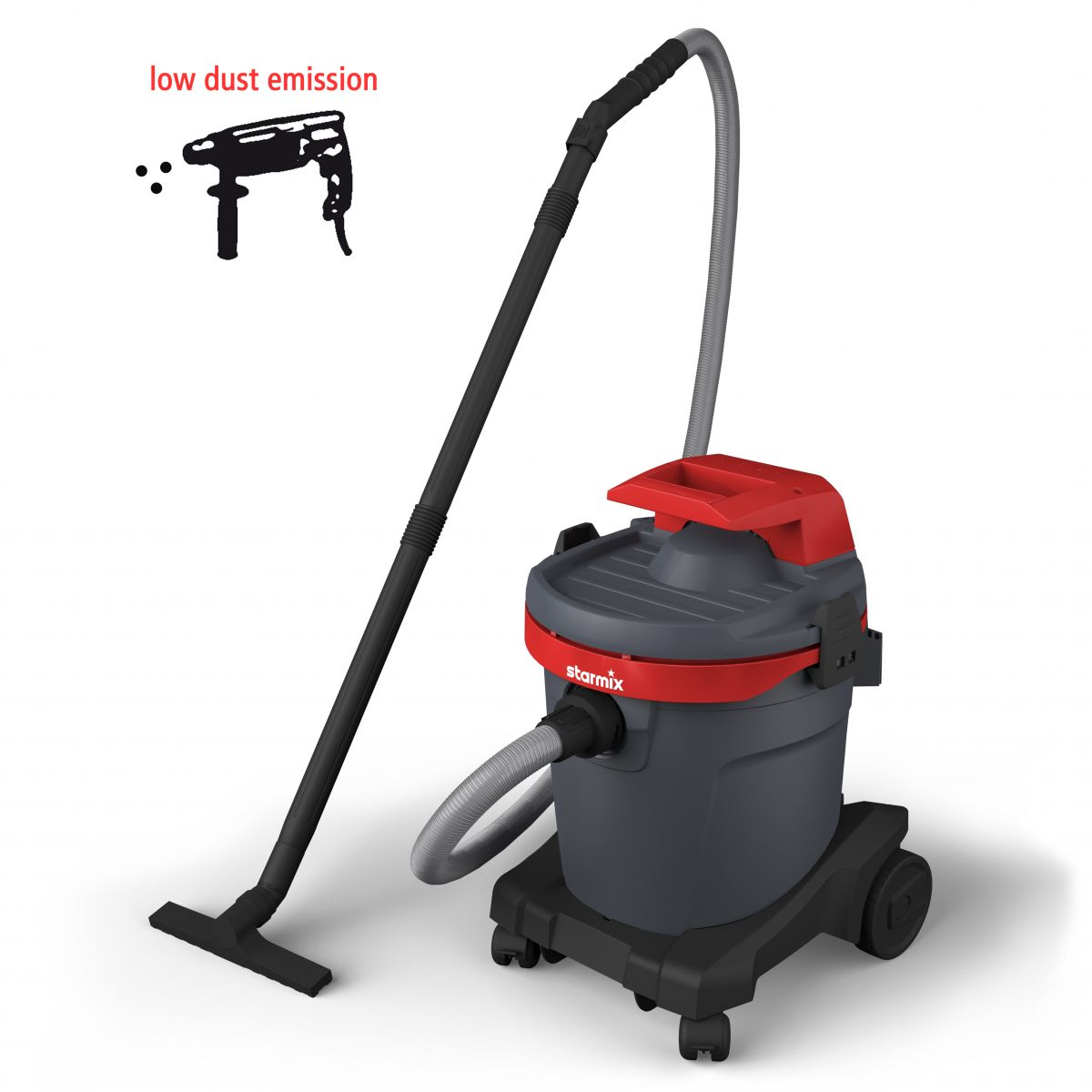 Power tool vacuum cleaner eSwift A-1232 EHB, Wet-Dry Vacuum cleaner with basic accessory set