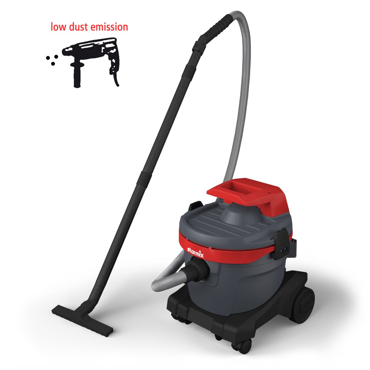 Power tool vacuum cleaner eSwift AR-1220 EHB, Wet-dry vacuum cleaner with filter cleaning